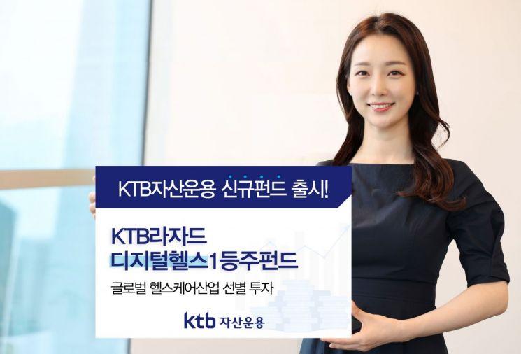 세계 헬스케어업체 분산투자…KTB자산운용, 새 펀드 상품 출시