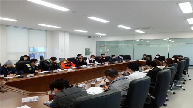 지난해 10월 세종시 오토바이 문제해결 TF가 개최한 이륜차 배달업계와의 간담회.