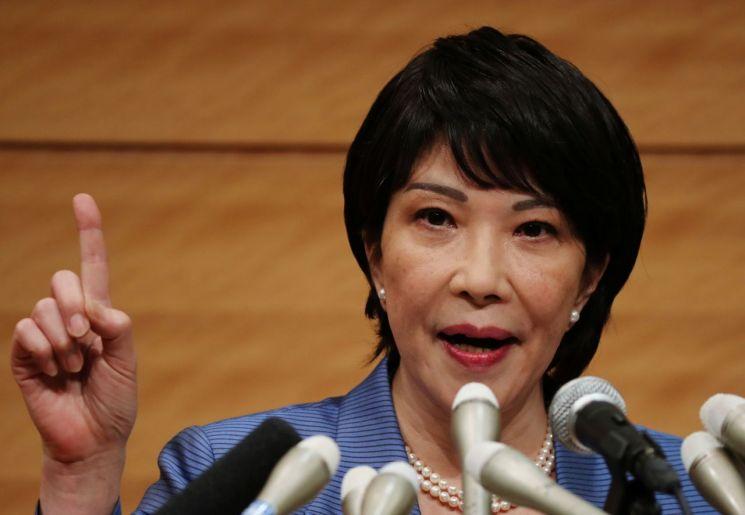 日 자민당 총재 출마 선언하는 다카이치 전 총무상 [이미지출처=연합뉴스]
