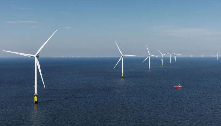 세계 최대의 해양 풍력 터빈 발전 시설인 영국 '혼시(hornsea) 윈드 팜' / 사진=혼시 프로젝트 공식 홈페이지