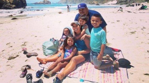 코로나19로 숨진 마시아스 부부와 자녀들의 모습. /사진=CNN 캡처