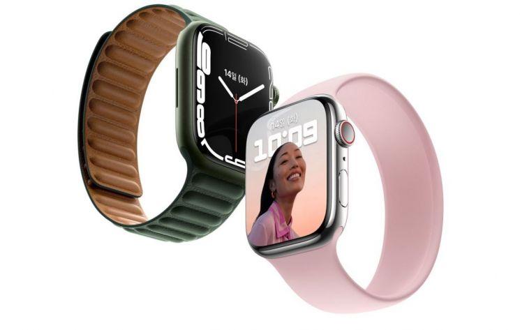 화면 커지고 충전속도 빨라진 '애플워치7' 공개…399달러부터