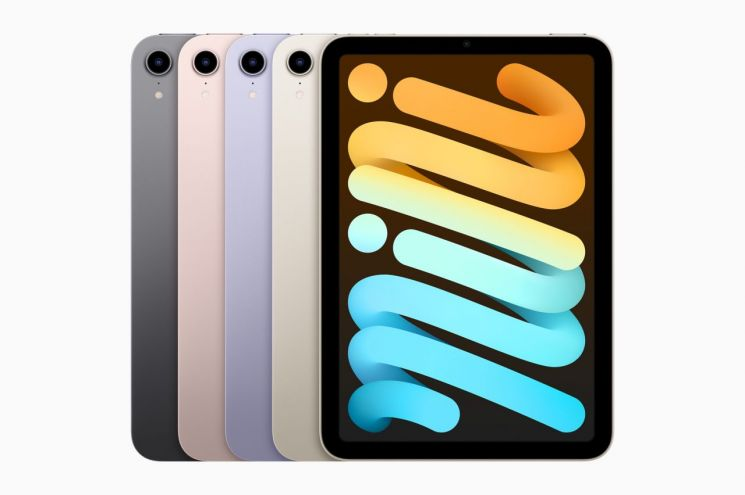 애플, 성능 80% 개선된 '아이패드 미니' 공개…64만9000원부터
