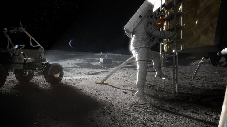 NASA, 달 표면-궤도간 '지속 가능한' 수송 시스템 구축 나서