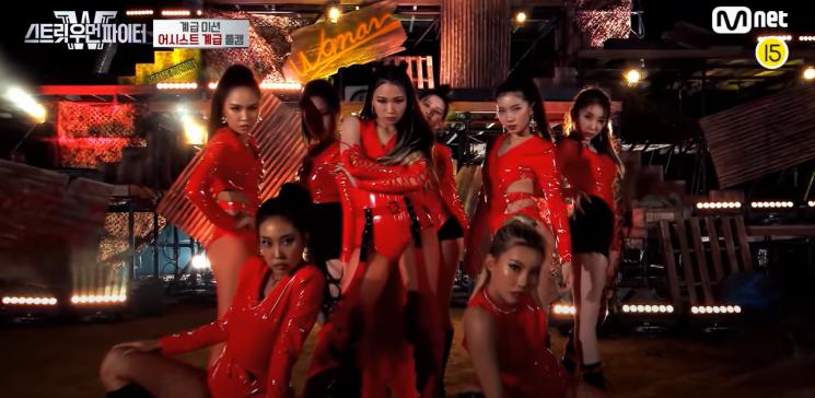 사진=Mnet '스트릿우먼파이트' 방송화면 캡처