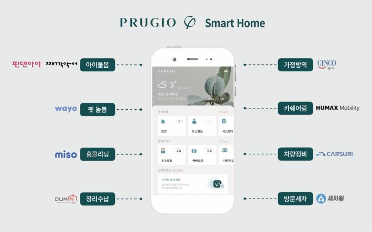 푸르지오 '스마트홈' 앱