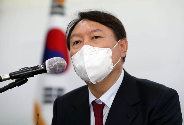 국민의힘 대권주자인 윤석열 전 검찰총장 / 사진=연합뉴스