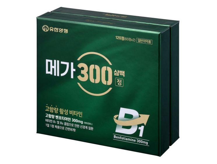 유한양행 '메가300정' (사진제공=유한양행)