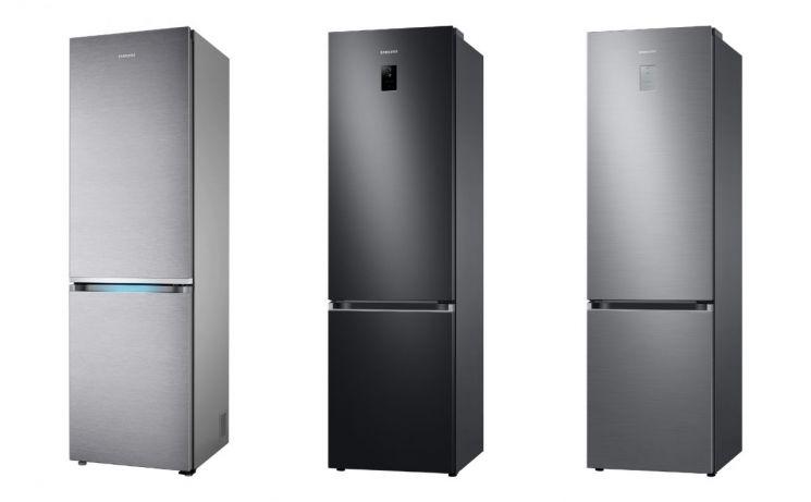 독일 최대 소비자 매체 '스티바'의 냉장고 제품 평가에서 삼성전자 냉장고가 상냉방·하냉동(BMF) 부문 1~3위를 석권했다. 사진 왼쪽부터 1~3위를 차지한 모델/사진제공=삼성전자
