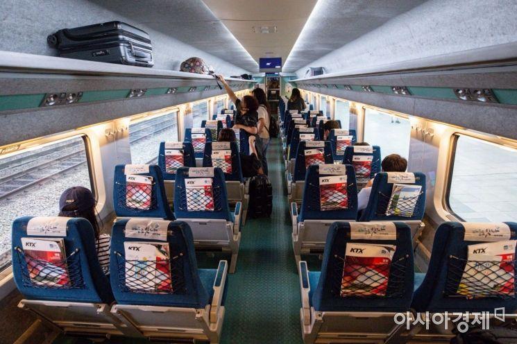[포토]열차안 거리두기