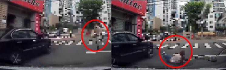16일 한 커뮤니티에 비접촉 사고에도 범칙금을 낸 차량 운전자가 자해공갈을 당한 것 같다며 글을 게재했다./사진=보배드림 캡처