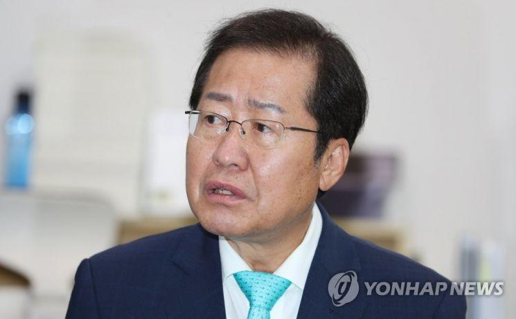 국민의힘 대권주자인 홍준표 의원. /사진=연합뉴스