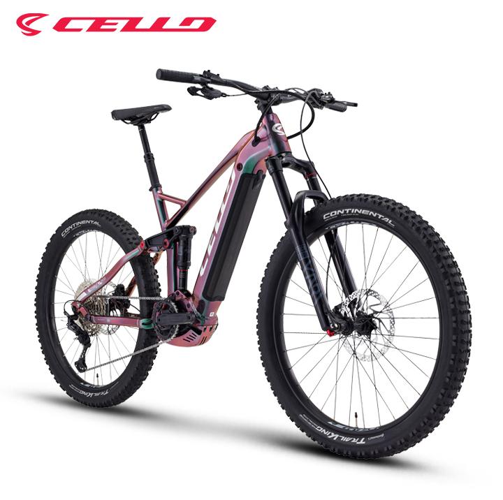 삼천리자전거는 최근 자체 퍼포먼스 자전거 브랜드 첼로를 통해 하이엔드 산악용 전기자전거(e-MTB) 신제품 '불렛 FX 90'을 출시했다. 사진제공 = 삼천리자전거