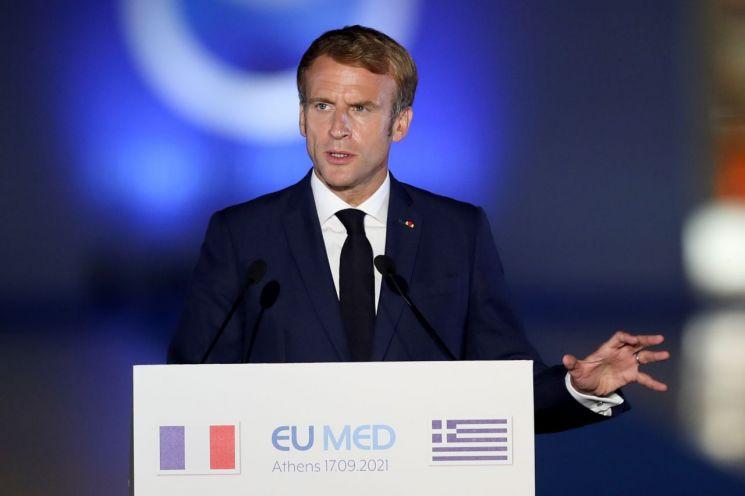 에마뉘엘 마크롱 프랑스 대통령 [이미지출처=로이터연합뉴스]