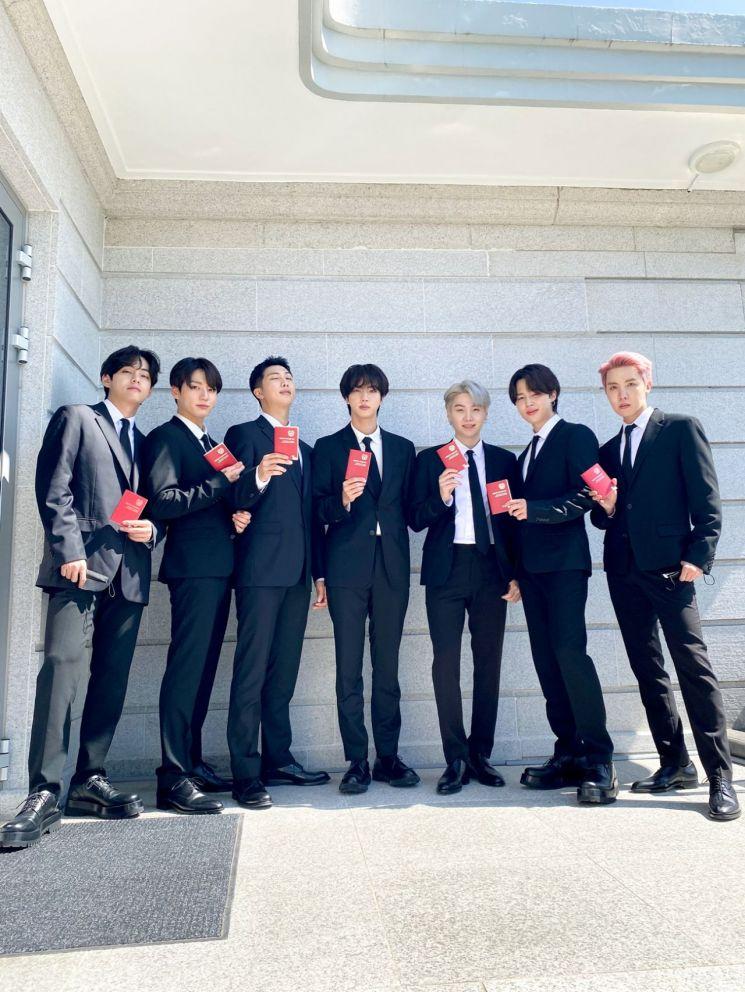 그룹 방탄소년단(BTS).