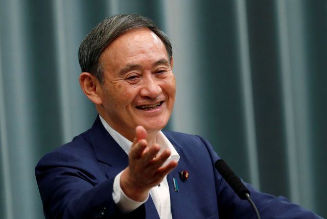 ▲스가 요시히데 일본 총리 [이미지출처=로이터연합뉴스]