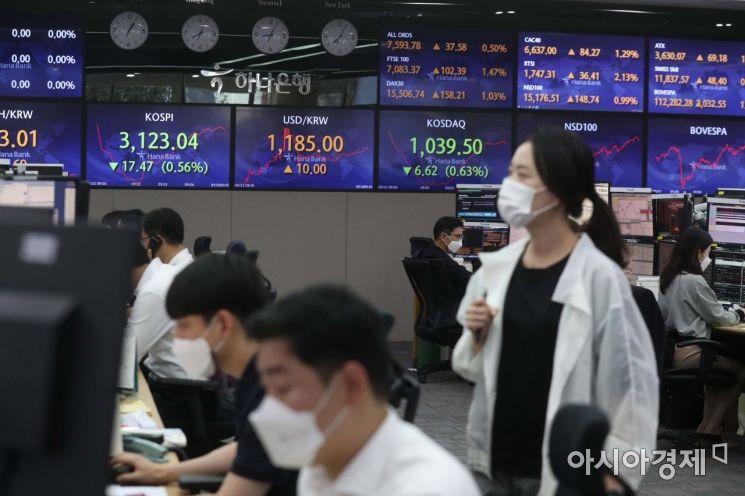 코스피 상승 반전.. 반도체 대표株 오름세