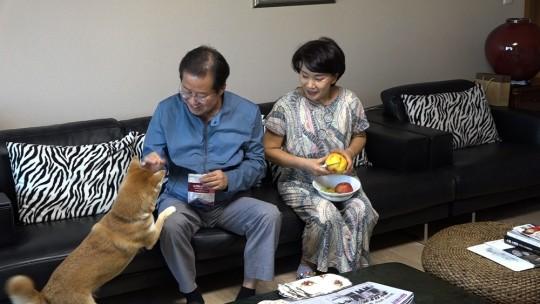 국민의힘 대권주자인 홍준표 의원이 오는 28일 TV조선 '와이프 카드 쓰는 남자'에 출연한다. 사진=TV조선.