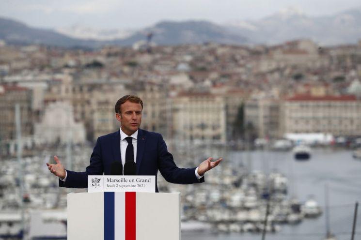 에마뉘엘 마크롱 프랑스 대통령 (사진제공=AP연합뉴스)