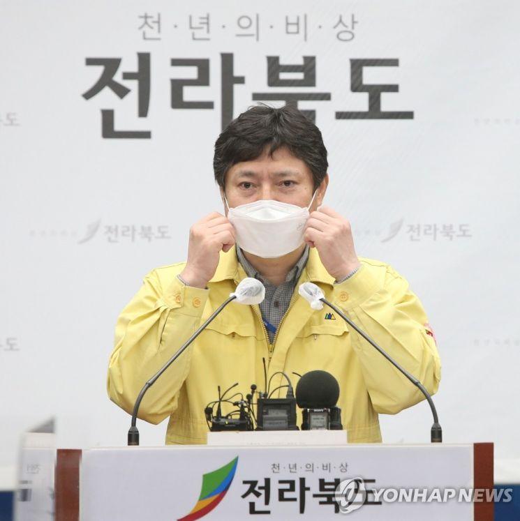강영석 전북도 복지여성보건국장. [사진=연합뉴스]
