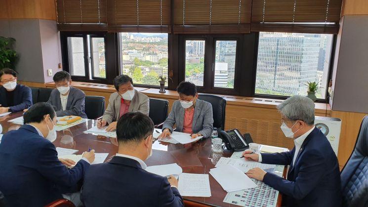 """고승범 위원장, 미신고 가상거래소 일제점검 지시…""""폐업 피해 제한적"""""""