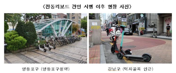 서울시, 킥보드 안전 이용 실효성 높인다…'주차질서 확립' 세부 대책 수립