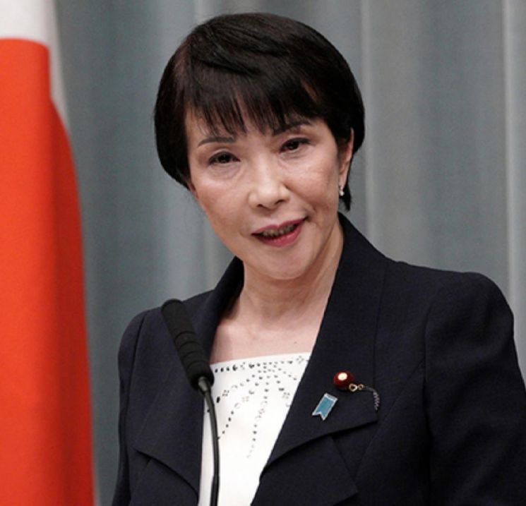 다카이치 사나에 일본 전 총무상/사진=서경덕 교수 페이스북 캡처