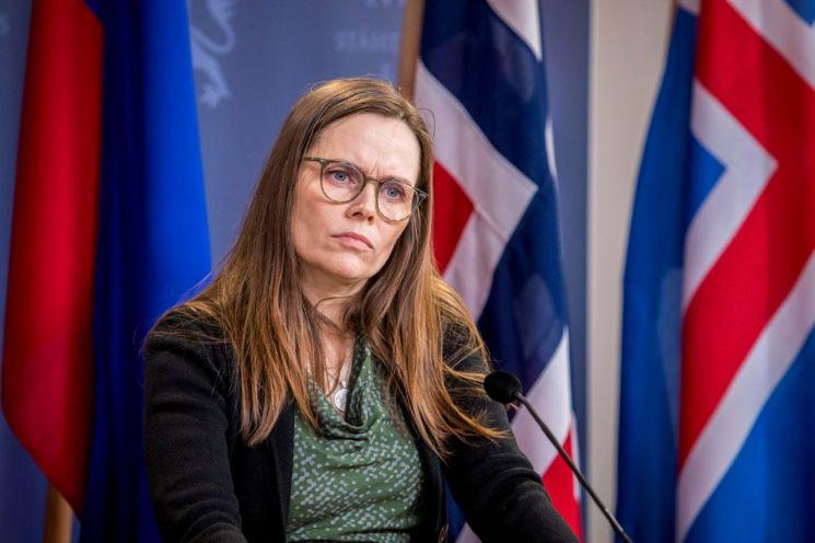 카트린 야콥스도티르 아이슬란드 총리   [사진 제공= 로이터연합뉴스]