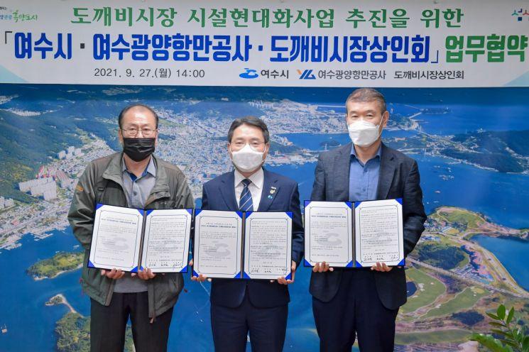 여수광양항만공사, 지역경제활성화를 위한 업무협약 체결
