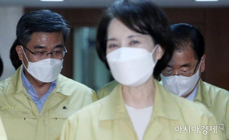 [포토] 국무회의 참석하는 국방-외교 장관