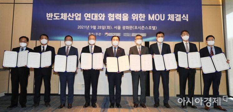 [포토]반도체산업 연대와 협력 위한 MOU 체결