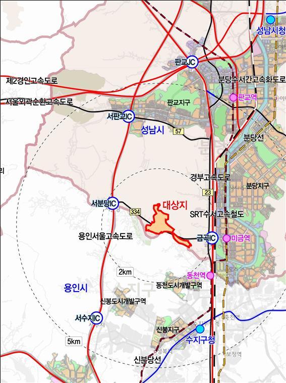 성남 낙생지구 위치도 (자료제공=국토교통부)