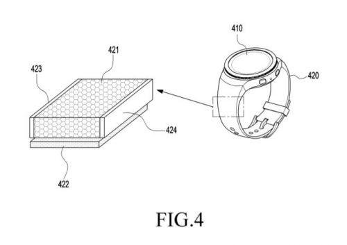 삼성전자 태양광 발전 특허 기술을 전자기기에 형상화한 모습.