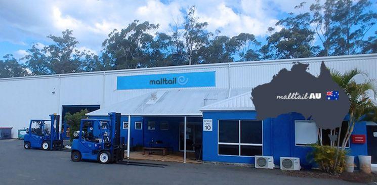 코리아센터 몰테일 호주 물류센터.