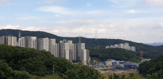 경기 성남시 대장동 전경 /