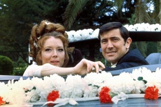 영화 '007 여왕 폐하 대작전' 스틸 컷