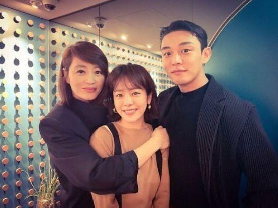 한지민, 김혜수와 유아인과 함께