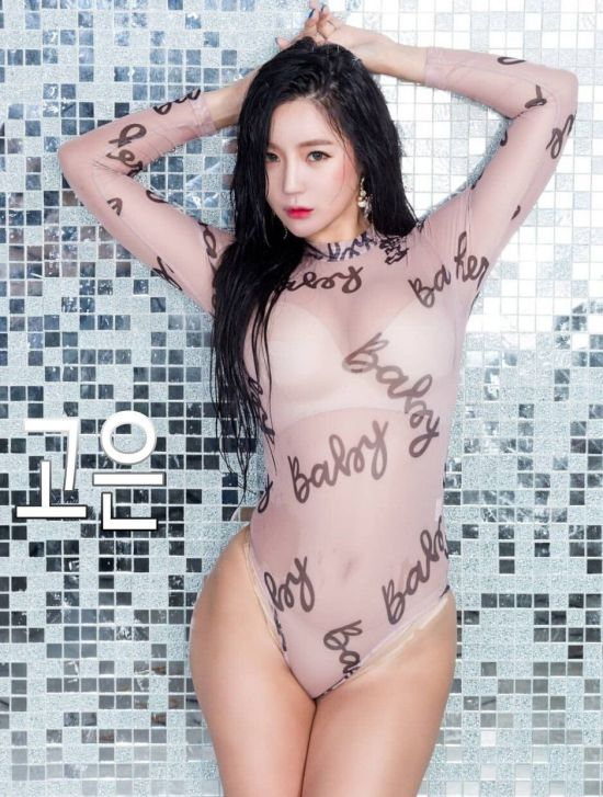 후방주의) 댄스팀 레이샤 시스루 프로필