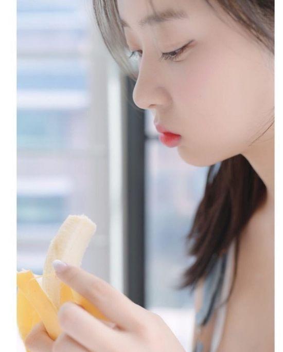 약후) 디저트 먹방도 아찔한 모델