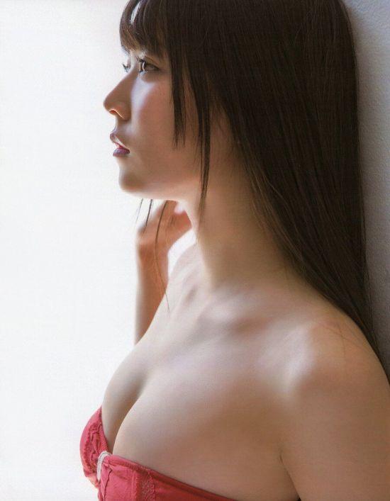 약후방) 프듀 출연했던 시로마 미루 화보