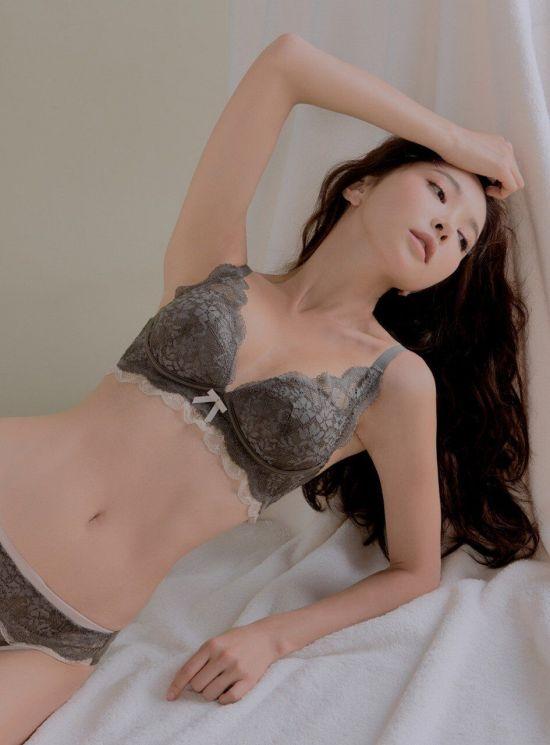 후방) 모델 박수연 란제리 화보