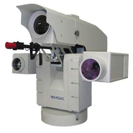 도담시스템에서 개발한 이지스1(aEgis 1). 5.56mm구경 소총이 장착가능하며 UAE공군 및 미국 자문단에 경계범위 및 주야간 영상이동물체탐지 능력을 인정 받았다.