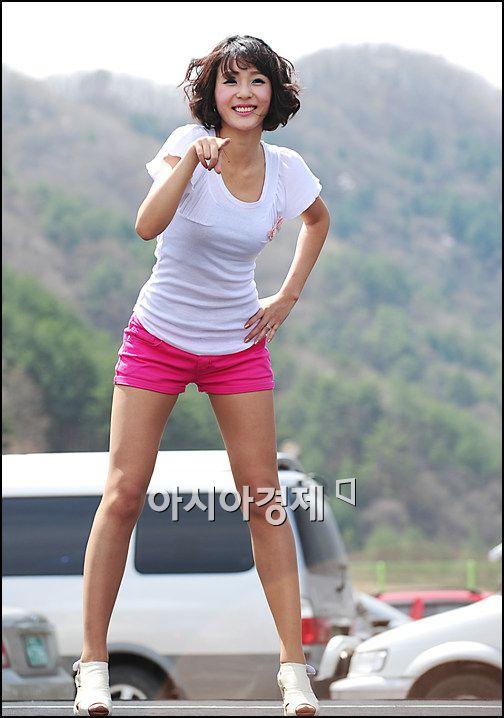 [포토]레이싱걸 이주희 핑크빛 소녀시대 - 아시아경제