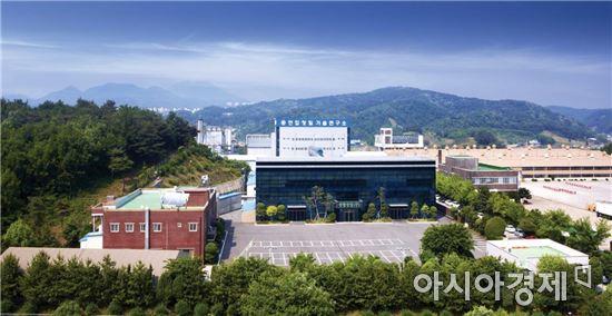 천안에 위치한 연합정밀 전경