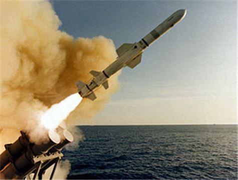 AGM-84 하푼(Harpoon)미사일 모습(사진=위키리크스)