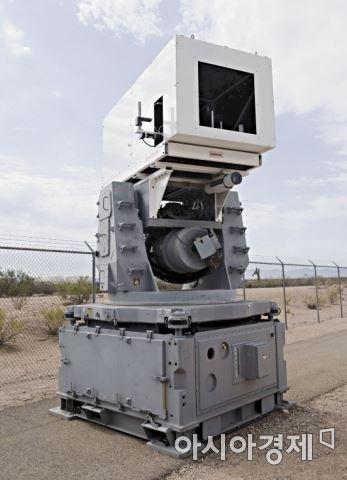 레이시온사에서 개발한 레이저에어방어시스템(LADS)