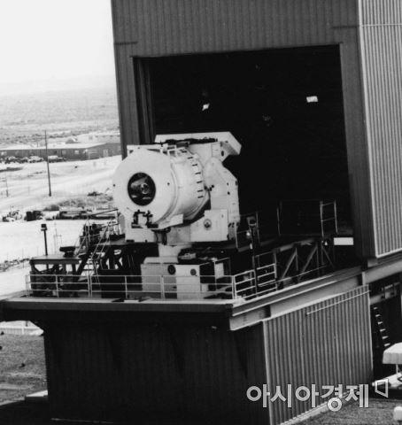 미 해군의 함상용 레이저 시험시설(화이트샌드 미사일시험장)