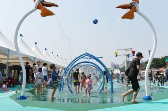 중랑천 야외 수영장 15일 개장