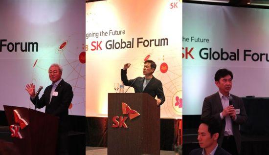 SK 사장단, 글로벌 인재 찾아 단체로 미국行