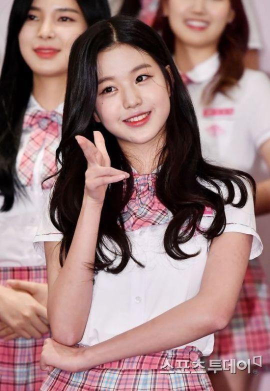 [포토] '프로듀스48' 장원영, '연습생 대표 미모'